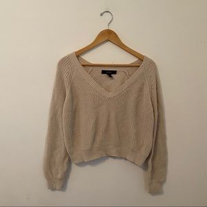 Forever 21 | cropped sweater